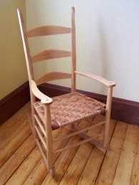 rocking chair with arms