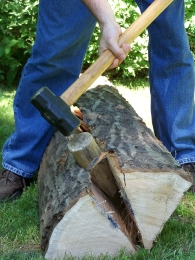 log-splitting